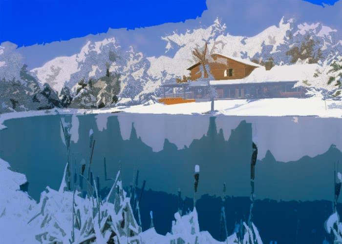 El frío del lago es testigo del regreso
