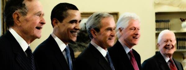 Los últimos presidentes de EEUU