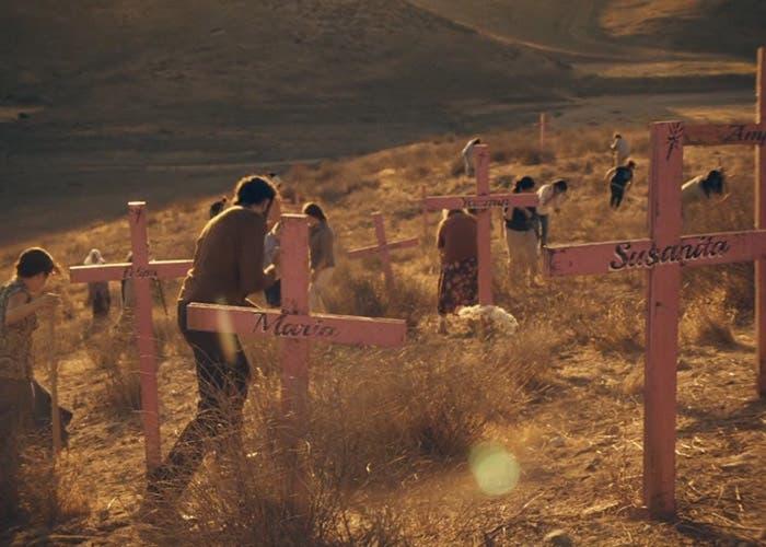 Lugar donde encuentran los cadáveres de las chicas desaparecidas