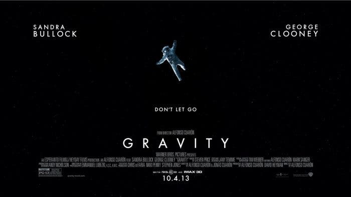 Cartel de Gravity