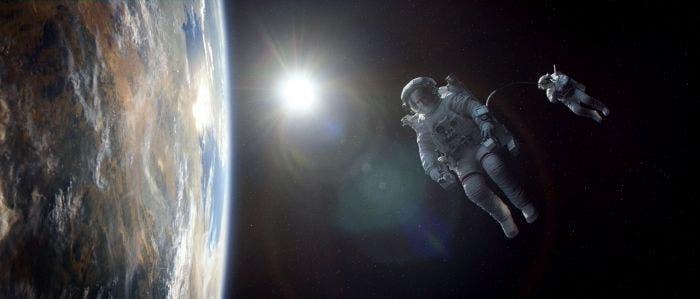 La tierra en el espacio