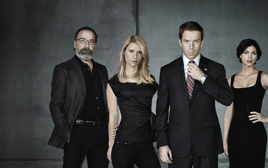 Saul, Carrie, Brody y Jessica