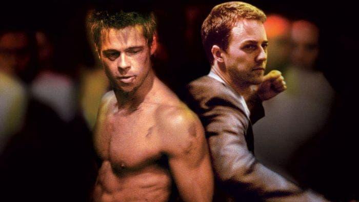 Brad Pitt y Edward Norton