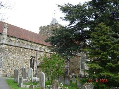Cementerio de la iglesia de Santa María en Rye